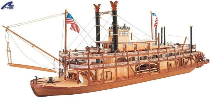 Wood Model kits of ships