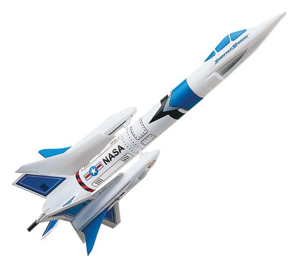Estes Rockets 1462 Shuttle Xpress Launch Set.