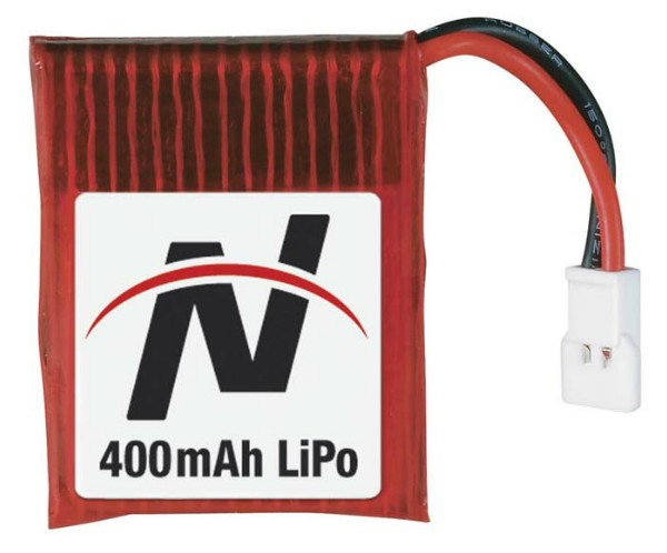 Great Planes 0408 LiPo 1S 3.7V 400mAh Battery Novus CX/FP/CP.