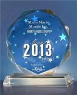 For a third time in a row, Micro Macro Mundo has been awarded with the Toy and Games award.