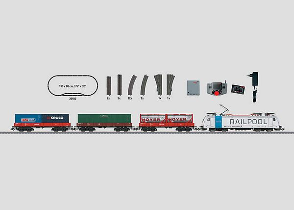Marklin 29450 Container Train Starter Set