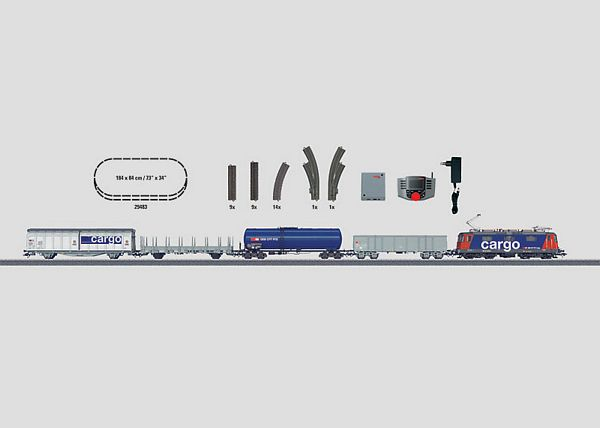 Marklin 29483 Swiss Freight Train Starter Set
