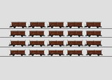 Marklin 00769 Display with 20 Type Tes-t-58 Kmmgks Freight Cars