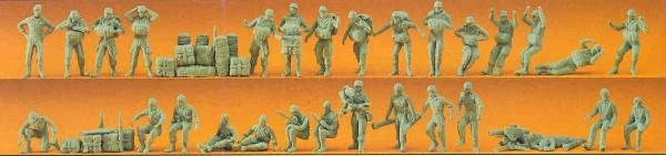 Preiser 16508 German Federal Armed ForcesParatroopers